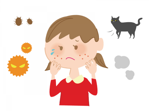 花粉症の原因