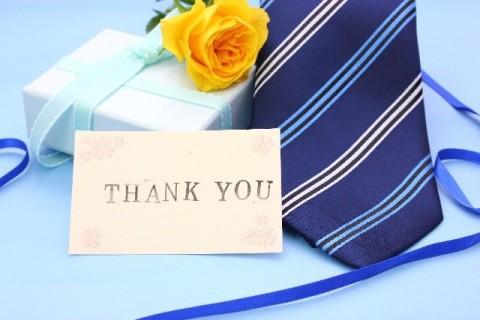 ネクタイをプレゼント