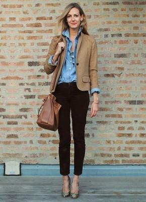 女性用麻ジャケット