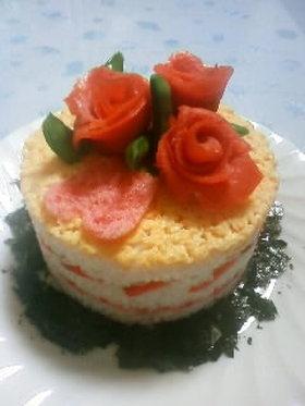 お寿司ケーキ
