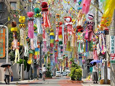 日本一!仙台七夕祭りの日程 ... : 短冊飾り : すべての講義