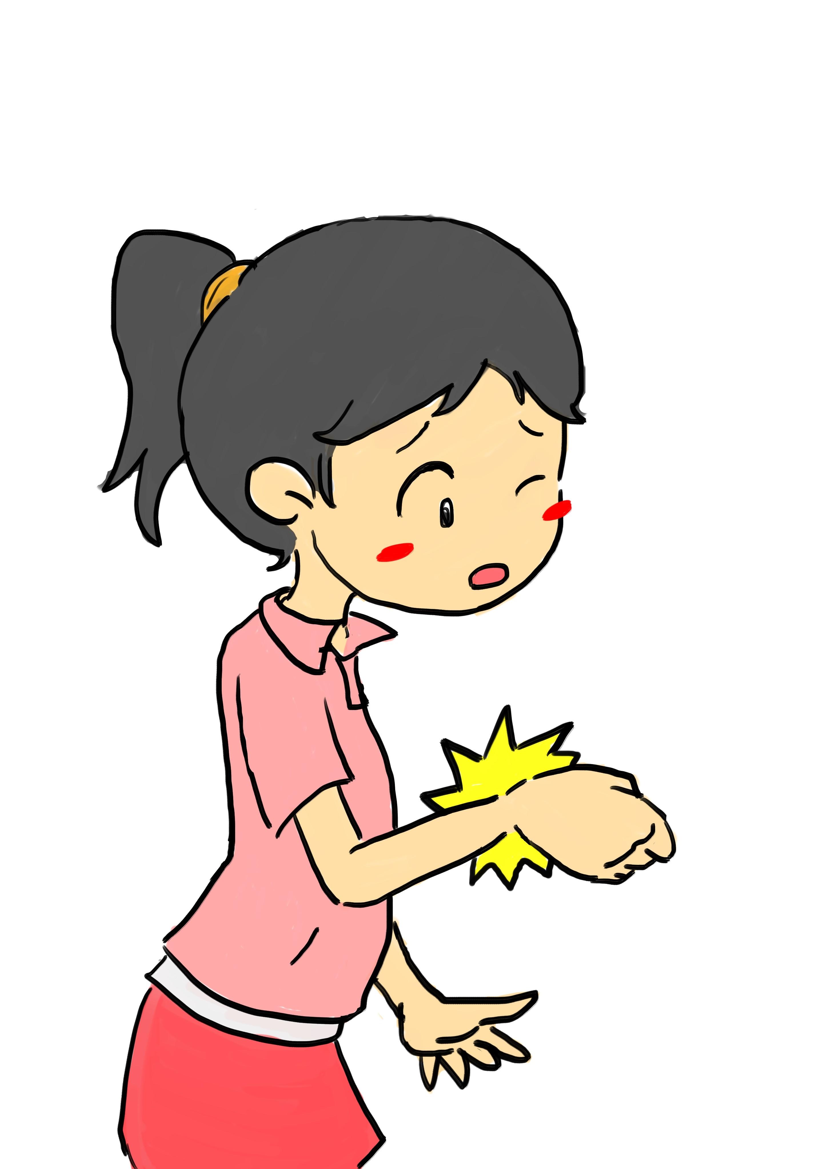 手首の痛みの原因